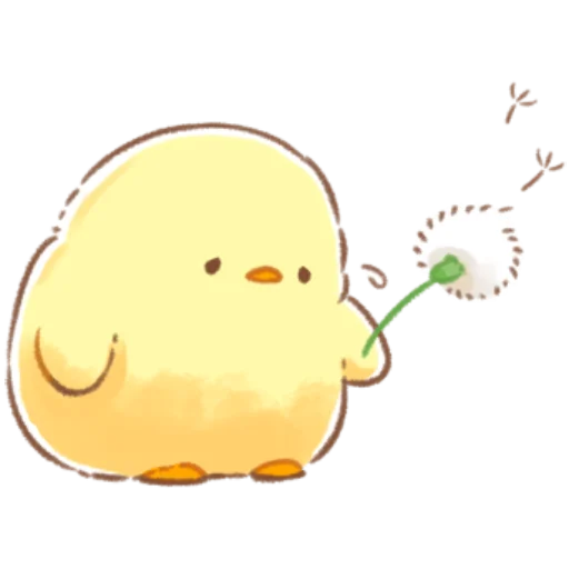 soft and cute chick 09 - Sticker 13