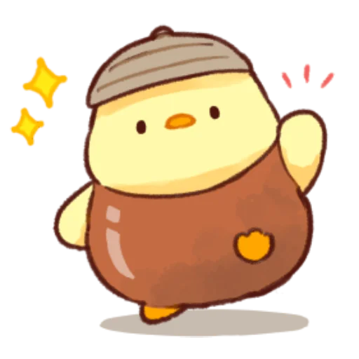 soft and cute chick 09 - Sticker 29