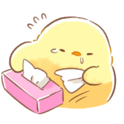 soft and cute chick 09 - Sticker 18