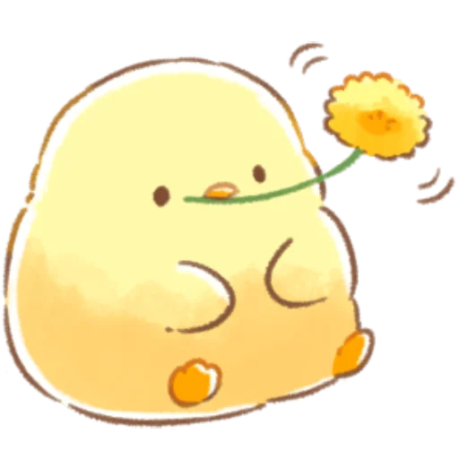 soft and cute chick 09 - Sticker 12