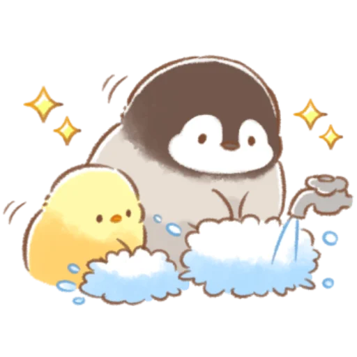 soft and cute chick 09 - Sticker 20