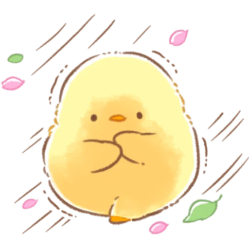 soft and cute chick 09 - Sticker 22