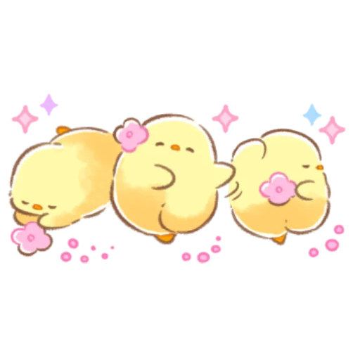 soft and cute chick 09 - Sticker 7