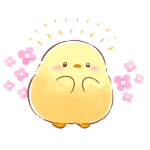 soft and cute chick 09 - Sticker 5