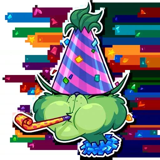 The Grinch - Sticker 25