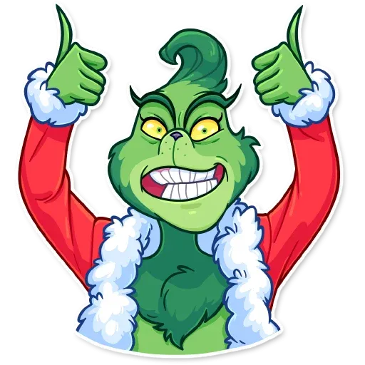 The Grinch - Sticker 3