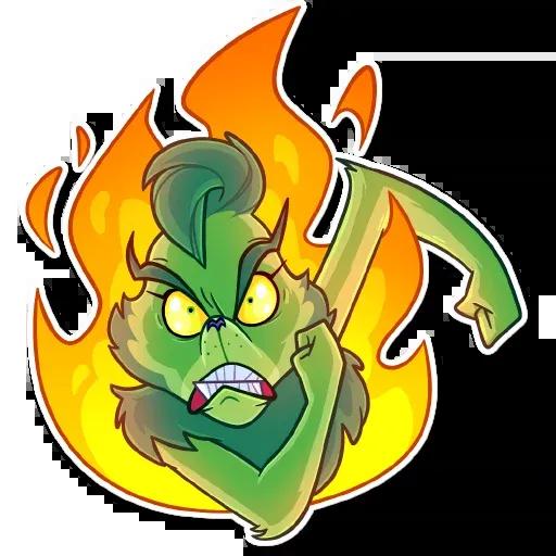 The Grinch - Sticker 24