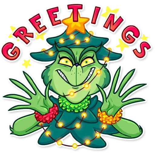 The Grinch - Sticker 5