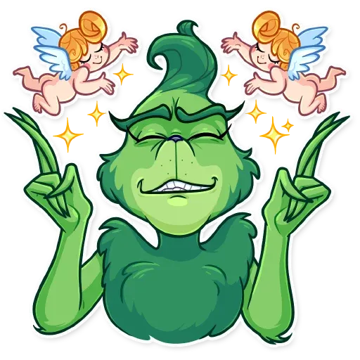 The Grinch - Sticker 17