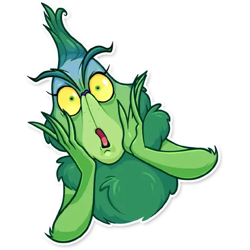 The Grinch - Sticker 4