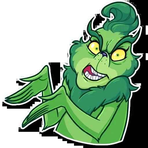The Grinch - Sticker 14