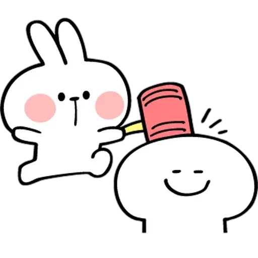Spoiled rabbit from tg2 - Sticker 27
