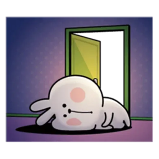 Spoiled rabbit from tg2 - Sticker 12