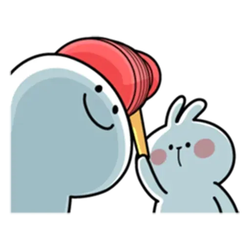 Spoiled rabbit from tg2 - Sticker 3