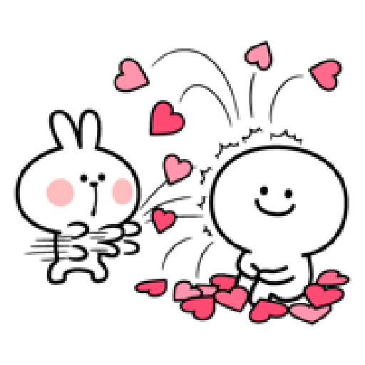Spoiled Rabbit Love - Sticker 25