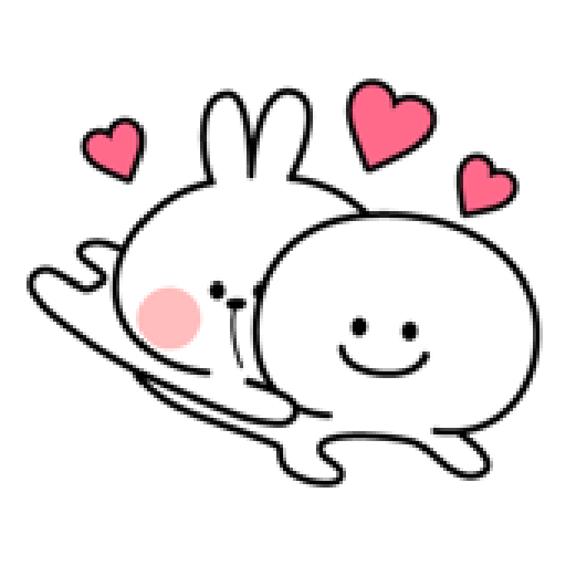 Spoiled Rabbit Love - Sticker 15