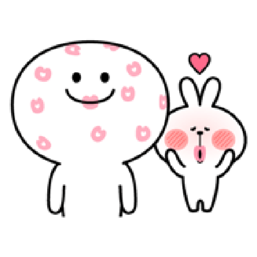 Spoiled Rabbit Love - Sticker 4