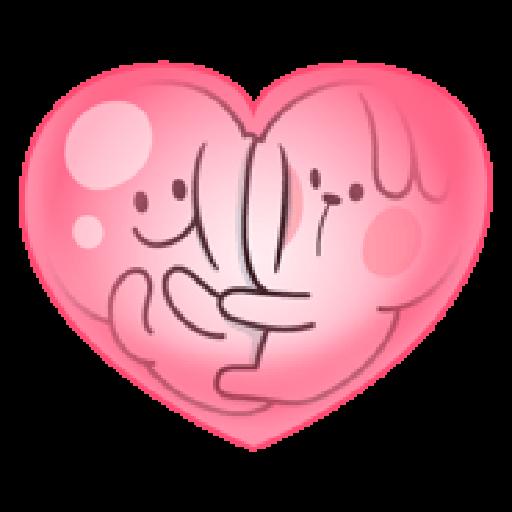 Spoiled Rabbit Love - Sticker 27