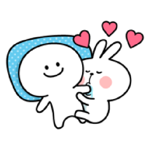 Spoiled Rabbit Love - Sticker 6