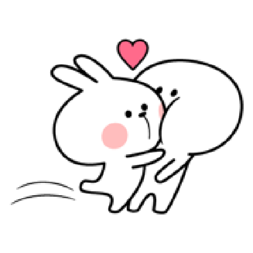 Spoiled Rabbit Love - Sticker 17