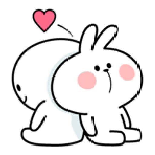 Spoiled Rabbit Love - Sticker 5