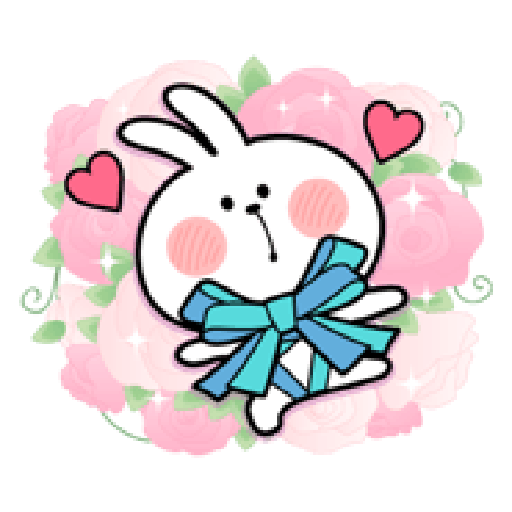 Spoiled Rabbit Love - Sticker 16