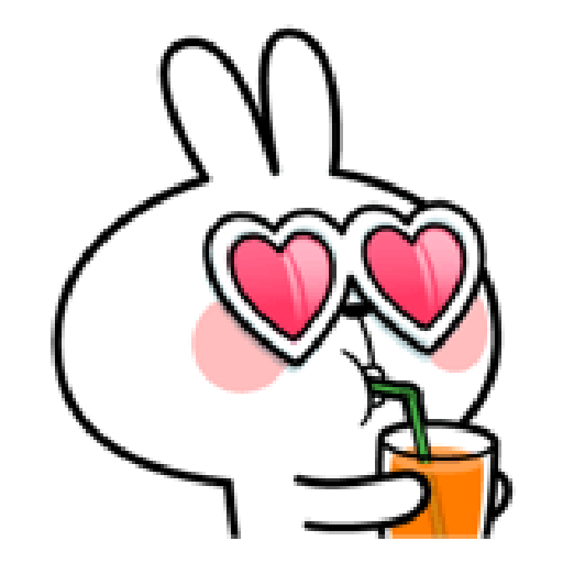 Spoiled Rabbit Love - Sticker 29