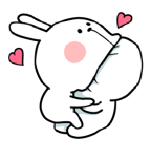 Spoiled Rabbit Love - Sticker 20