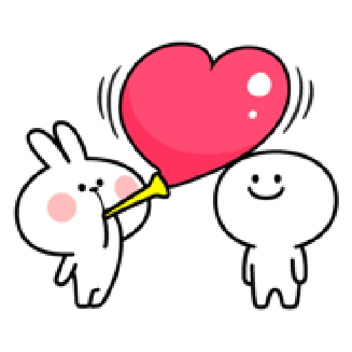 Spoiled Rabbit Love - Sticker 19