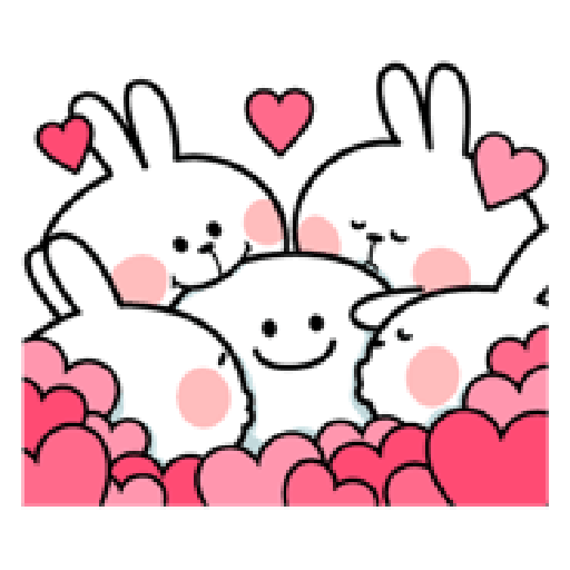 Spoiled Rabbit Love - Sticker 18