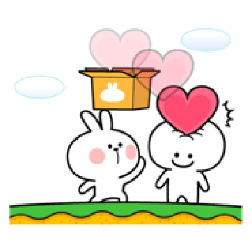 Spoiled Rabbit Love - Sticker 28