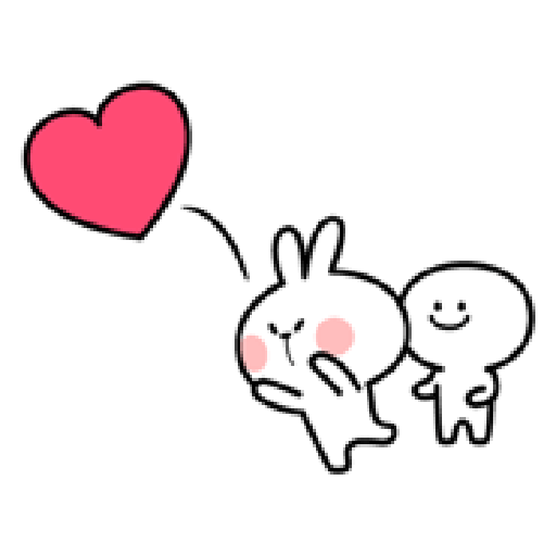 Spoiled Rabbit Love - Sticker 3