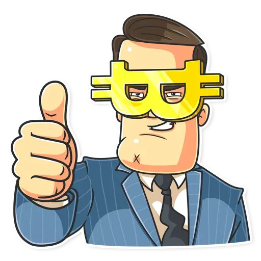 Mr Trader - Sticker 2