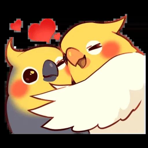 鸚鵡 - Sticker 15