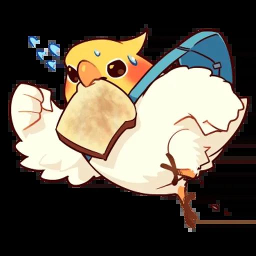 鸚鵡 - Sticker 25