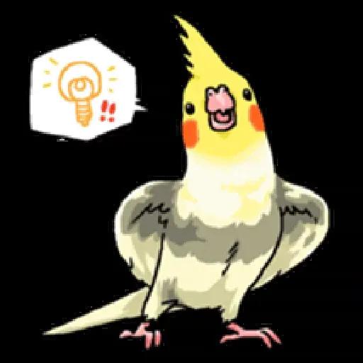 鸚鵡 - Sticker 2