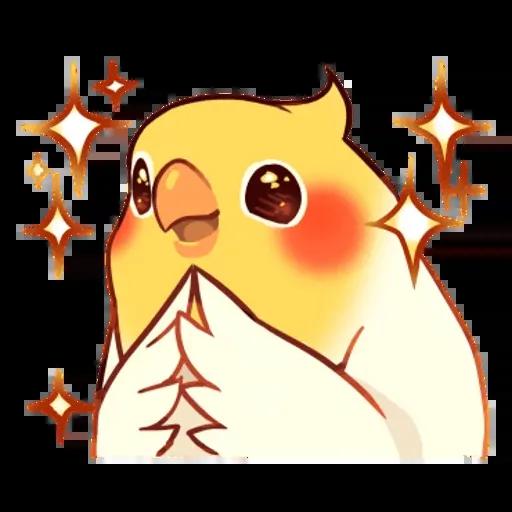 鸚鵡 - Sticker 17