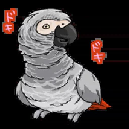 鸚鵡 - Sticker 4