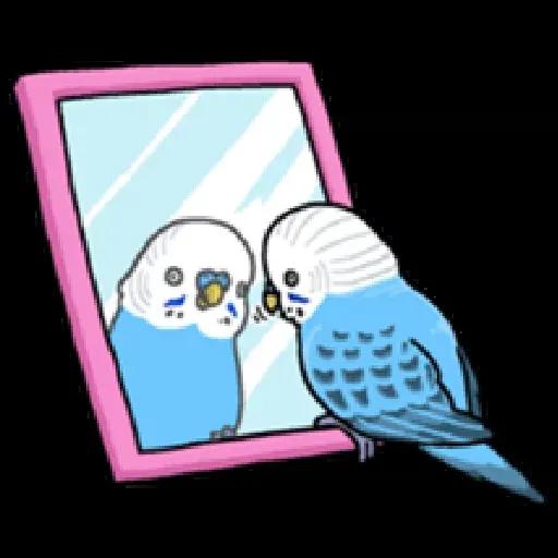 鸚鵡 - Sticker 7