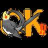 鸚鵡 - Tray Sticker