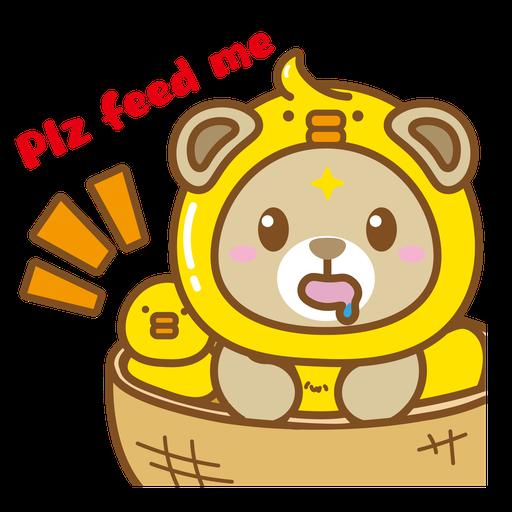 Foodie BuBear - Sticker 7