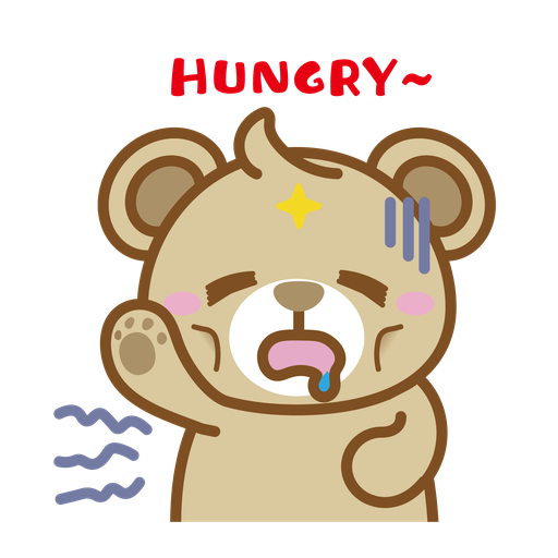 Foodie BuBear - Sticker 11