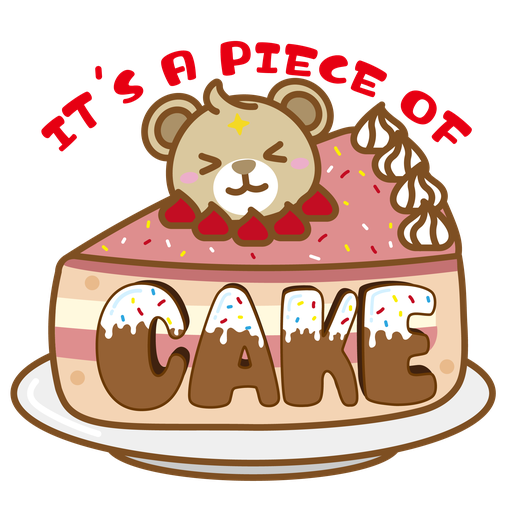 Foodie BuBear - Sticker 5