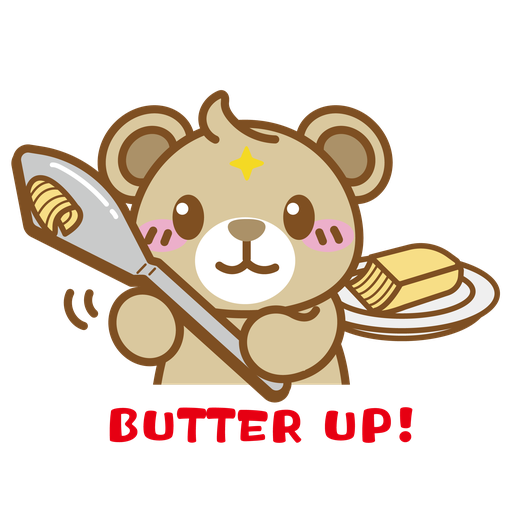 Foodie BuBear - Sticker 4