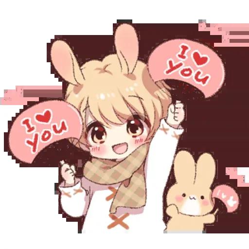 Bunny Boy 2 - Sticker 25