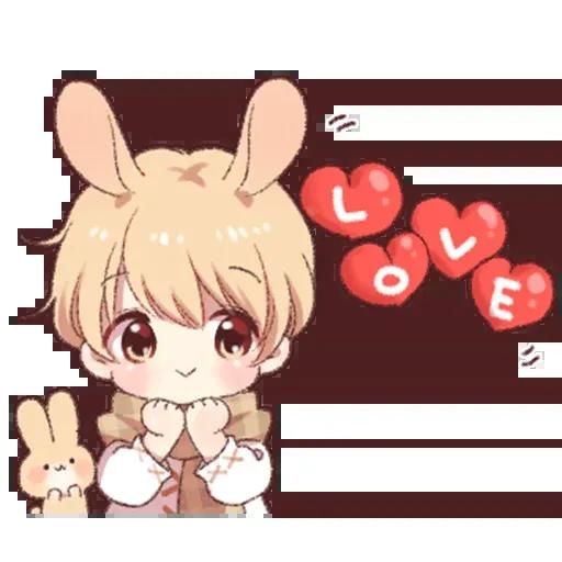Bunny Boy 2 - Sticker 26