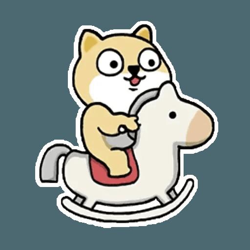 肥柴 - Sticker 11