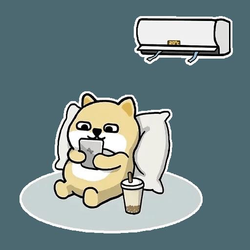 肥柴 - Sticker 9