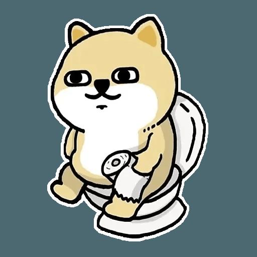 肥柴 - Sticker 1