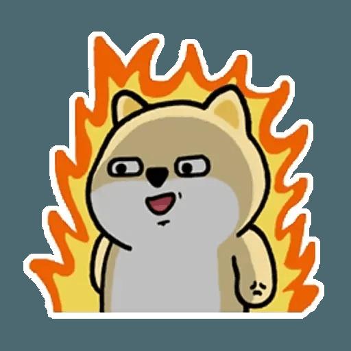 肥柴 - Sticker 10